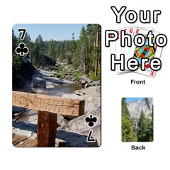 Yosemite Cards By Amy Barton   Playing Cards 54 Designs   3x9hom9gt9cu   Www Artscow Com Front - Club7