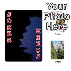 Yosemite Cards By Amy Barton   Playing Cards 54 Designs   3x9hom9gt9cu   Www Artscow Com Front - Joker2