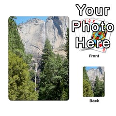 Yosemite Cards By Amy Barton   Playing Cards 54 Designs   3x9hom9gt9cu   Www Artscow Com Back