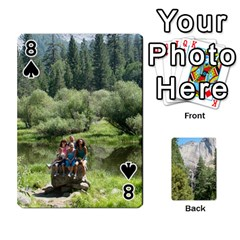 Yosemite Cards By Amy Barton   Playing Cards 54 Designs   3x9hom9gt9cu   Www Artscow Com Front - Spade8