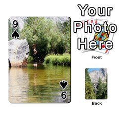 Yosemite Cards By Amy Barton   Playing Cards 54 Designs   3x9hom9gt9cu   Www Artscow Com Front - Spade9