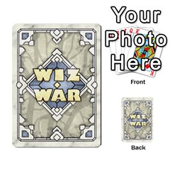 Ilya Baranovsky s Wiz War 1/4 By Mathieu Perreault Dorion   Playing Cards 54 Designs   2d5o6jidf9i8   Www Artscow Com Back