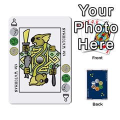 Decktet By Jorge   Playing Cards 54 Designs   Vw14yyrs2oxx   Www Artscow Com Front - Spade3