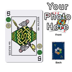 Decktet By Jorge   Playing Cards 54 Designs   Vw14yyrs2oxx   Www Artscow Com Front - Diamond3