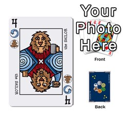 Decktet By Jorge   Playing Cards 54 Designs   Vw14yyrs2oxx   Www Artscow Com Front - Diamond6