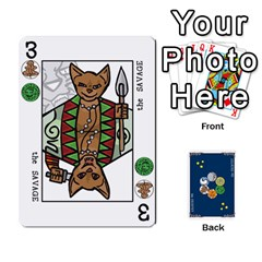 Decktet By Jorge   Playing Cards 54 Designs   Vw14yyrs2oxx   Www Artscow Com Front - Diamond9