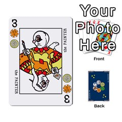Decktet By Jorge   Playing Cards 54 Designs   Vw14yyrs2oxx   Www Artscow Com Front - Diamond10