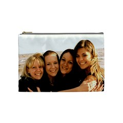 By Amanda Faith   Cosmetic Bag (medium)   Klwm4knp0bk0   Www Artscow Com Front