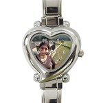 Heart Italian Charm Watch