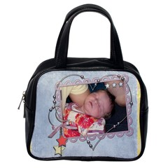 Baby Amelia Handbag By Catvinnat   Classic Handbag (two Sides)   1p9bvlvy86cz   Www Artscow Com Back