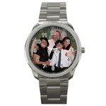 A true Family Watch - 4.99 free shipping - Awesome - Sport Metal Watch