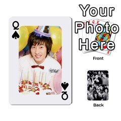 Queen Suju Playing Cards By Mia Story   Playing Cards 54 Designs   W8tp8dk6qnxd   Www Artscow Com Front - SpadeQ