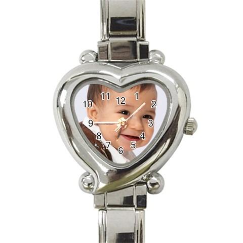 David Watch  By Denise   Heart Italian Charm Watch   Mbj60ll018qi   Www Artscow Com Front
