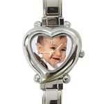 david watch  - Heart Italian Charm Watch