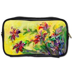 Uncontrolled Lilies By Alana   Toiletries Bag (two Sides)   Mbm36q36ze5l   Www Artscow Com Front