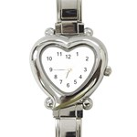 I love Conner watch - Heart Italian Charm Watch