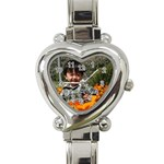Poppy watch - Heart Italian Charm Watch