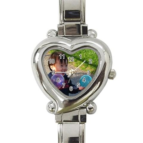 Ball Watch By Momfong   Heart Italian Charm Watch   S0vrjz2fowct   Www Artscow Com Front