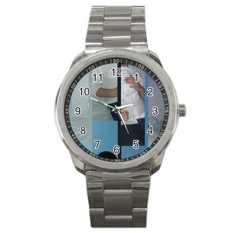 Joe s Father s Day Gift By Cassie   Sport Metal Watch   Zim80xkd14ng   Www Artscow Com Front