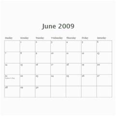 Family Calendar By Melinda   Wall Calendar 11  X 8 5  (12 Months)   Q2u90gu6zf7v   Www Artscow Com Jun 2009