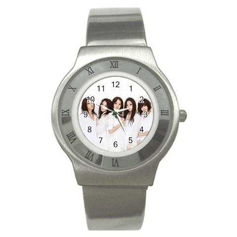 Watch By Stephen Shim   Stainless Steel Watch   W5ztfcegm8pi   Www Artscow Com Front