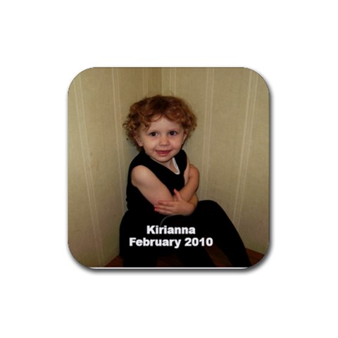 Kirianna Coaster By Per Westman   Rubber Coaster (square)   Lbshwl3y5ki6   Www Artscow Com Front