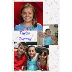 Taylor s Notebook By Samantha Sweezy   5 5  X 8 5  Notebook   Uav2f5cnrs4x   Www Artscow Com Front Cover