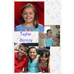 Taylor s Notebook - 5.5  x 8.5  Notebook
