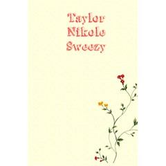 Taylor s Notebook By Samantha Sweezy   5 5  X 8 5  Notebook   Uav2f5cnrs4x   Www Artscow Com Back Cover Inside