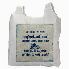 Blue Eyed Boy/bliss By Catvinnat   Recycle Bag (two Side)   Vvgdiwy2rhrd   Www Artscow Com Back