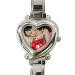 Lavenia s watch - Heart Italian Charm Watch
