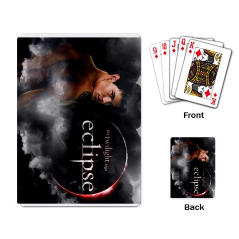 By Kim   Playing Cards Single Design   Cczazktf4pui   Www Artscow Com Back