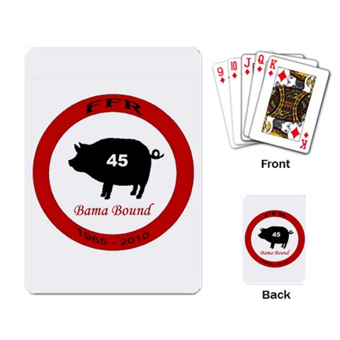 Ffr Cards By Jennifer Barningham   Playing Cards Single Design   Lg0todiea3s4   Www Artscow Com Back