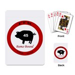 FFR cards - Playing Cards Single Design
