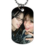 :D - Dog Tag (Two Sides)