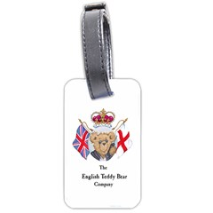 English Teddy Bear Bag Tag By Anton Anderssen   Luggage Tag (two Sides)   Upamye2qe2up   Www Artscow Com Back