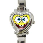emma s watch - Heart Italian Charm Watch