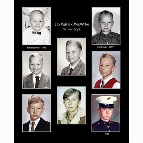 Jay School Days Collage By Debra Macv   Collage 8  X 10    Vilw2tgdrnc8   Www Artscow Com 10 x8 Print - 1