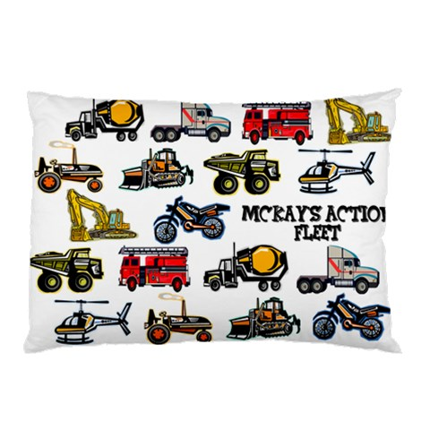 Vehiclepillowcase By Mary   Pillow Case   K4mfbifry8gx   Www Artscow Com 26.62 x18.9 Pillow Case