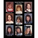 Rachel School Days Collage - Collage 8  x 10