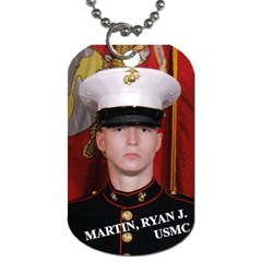 Ryan/joe By Charlotte Martin   Dog Tag (two Sides)   J7s3fcimy3dr   Www Artscow Com Front