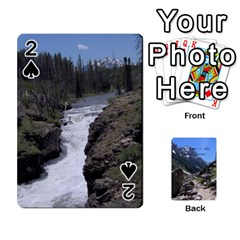 Out West Cards By Terri   Playing Cards 54 Designs   Vrzd1uzgkdos   Www Artscow Com Front - Spade2