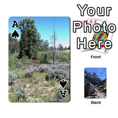 Ace Out West Cards By Terri   Playing Cards 54 Designs   Vrzd1uzgkdos   Www Artscow Com Front - SpadeA