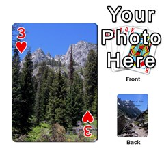 Out West Cards By Terri   Playing Cards 54 Designs   Vrzd1uzgkdos   Www Artscow Com Front - Heart3