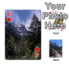 Out West Cards By Terri   Playing Cards 54 Designs   Vrzd1uzgkdos   Www Artscow Com Front - Heart6
