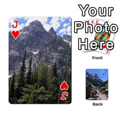Jack Out West Cards By Terri   Playing Cards 54 Designs   Vrzd1uzgkdos   Www Artscow Com Front - HeartJ