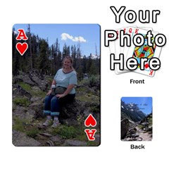 Ace Out West Cards By Terri   Playing Cards 54 Designs   Vrzd1uzgkdos   Www Artscow Com Front - HeartA