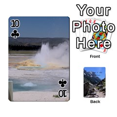 Out West Cards By Terri   Playing Cards 54 Designs   Vrzd1uzgkdos   Www Artscow Com Front - Club10