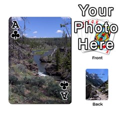 Ace Out West Cards By Terri   Playing Cards 54 Designs   Vrzd1uzgkdos   Www Artscow Com Front - ClubA