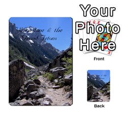 Out West Cards By Terri   Playing Cards 54 Designs   Vrzd1uzgkdos   Www Artscow Com Back
